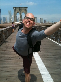 Brooklyn Bridge dancer